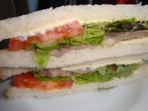 roast lamb sandwich